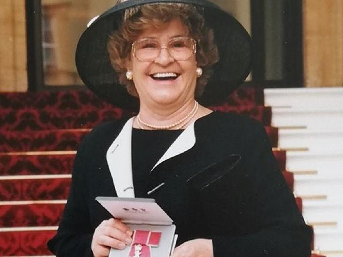 Ann Guest MBE, who has died at the age of 84