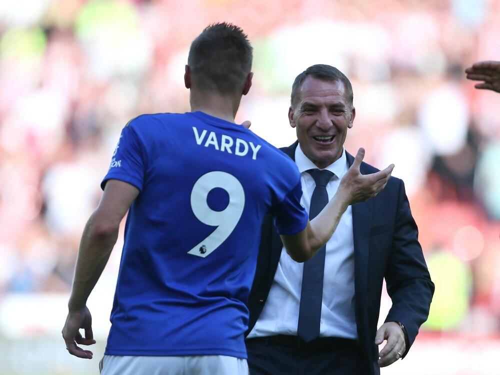 Iheanacho scores again, Vardy joins EPL 100-goal club