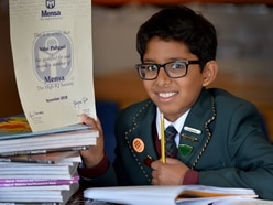 Walsall school boy, 10, boasts stunning IQ to join Mensa