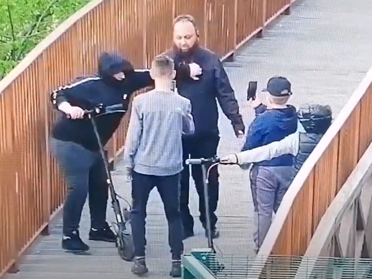 Police are trying to identify the youths in this CCTV footage