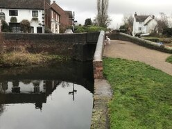Man rescued from canal in Wordsley