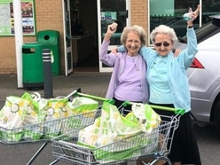 Tipton twins visit Asda on first trip out of house for six months