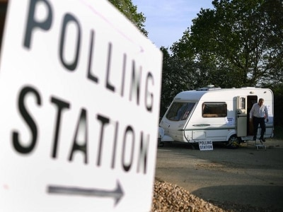 Wet and chilly weather could hit voters in marginal seats