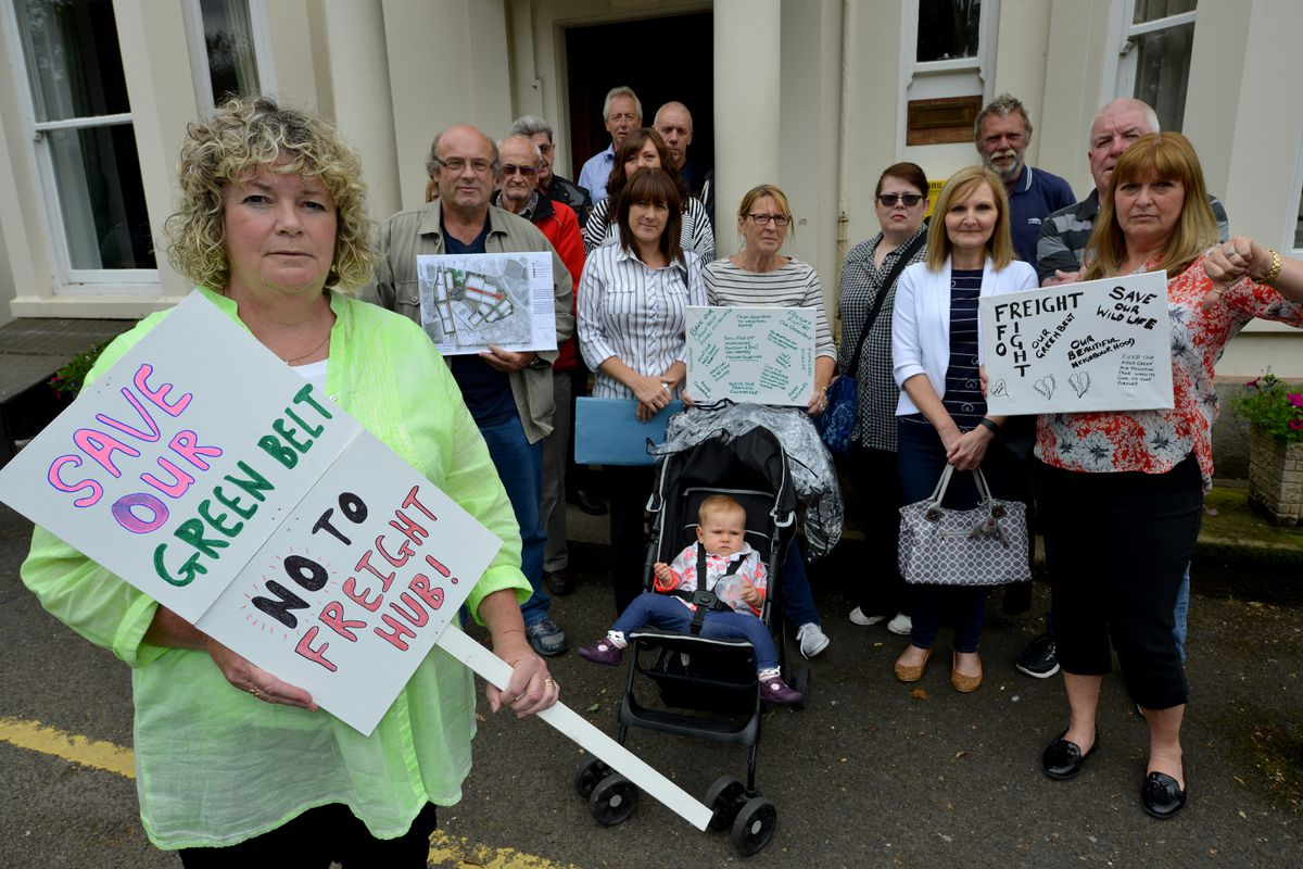 The Stop the Gailey Freight Hub group has opposed the plans
