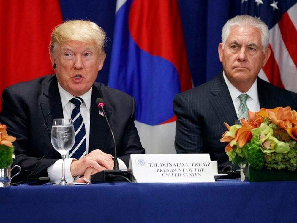 Donald Trump says U.S. prepared for 'military option' on North Korea