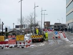 Months of city centre disruption begins in Wolverhampton
