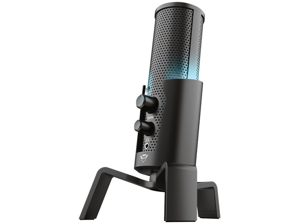 Trust Gaming GXT 258 Fyru USB 4-in-1 Streaming Microphone
