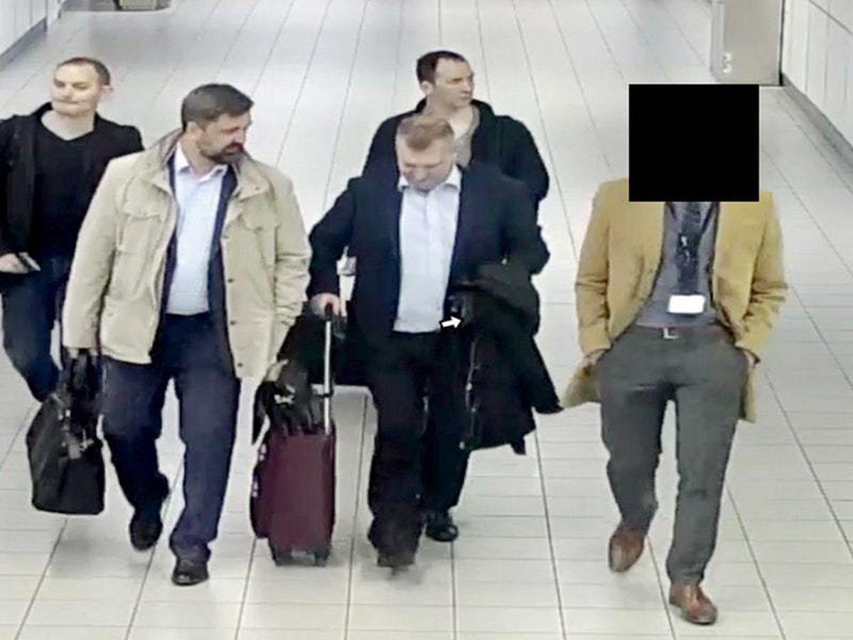 GRU officers taken from CCTV