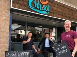 Community coffee hub opens despite virus