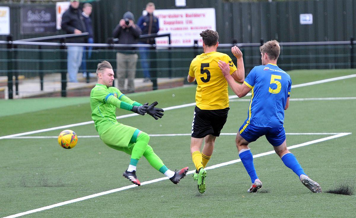 Sam Whittall scores for Rushall