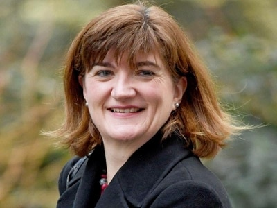 Nicky Morgan confirms she will stand down from Cabinet in reshuffle