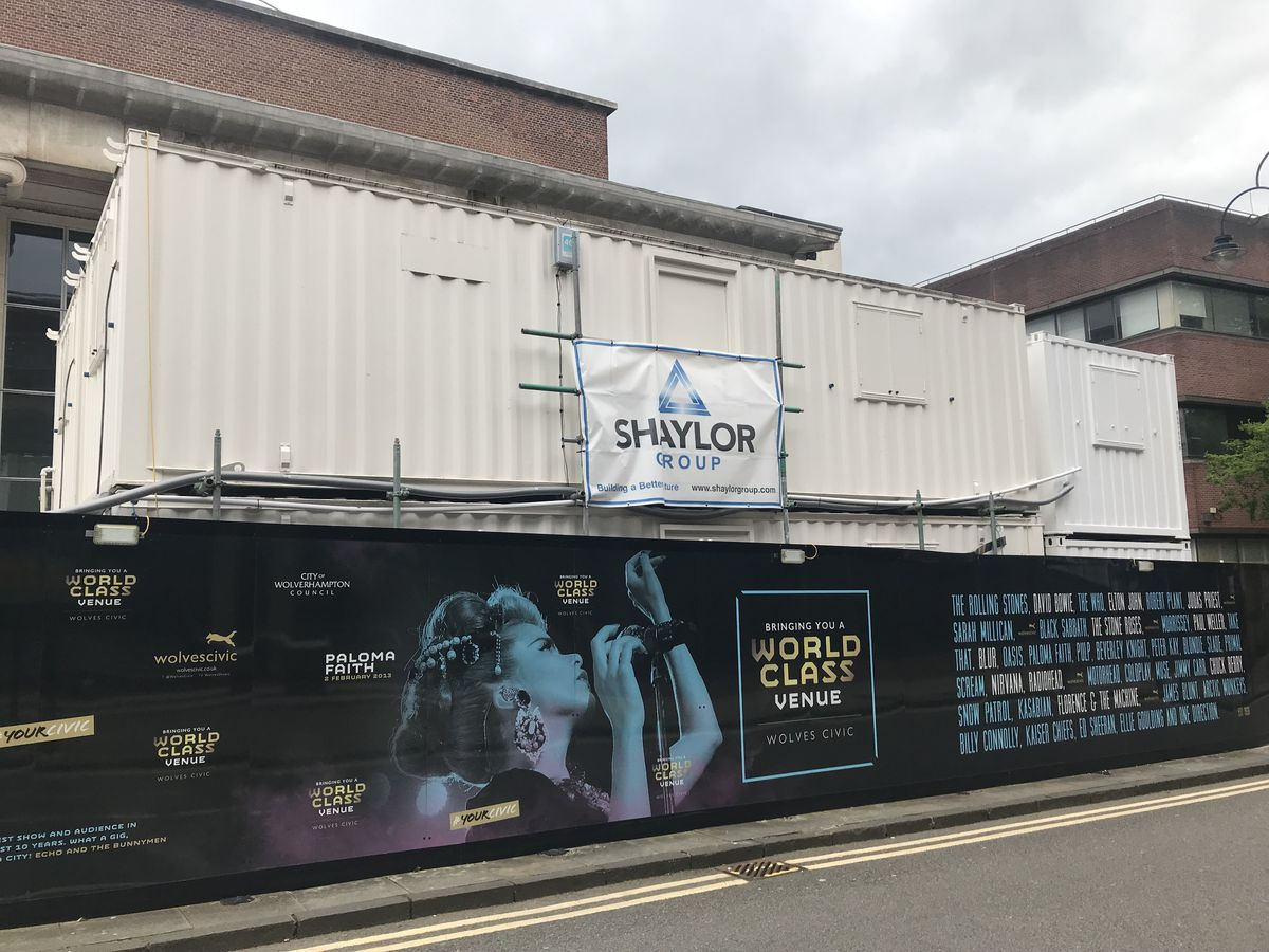 Shaylor Group had been working on the revamp of the Civic before it collapsed