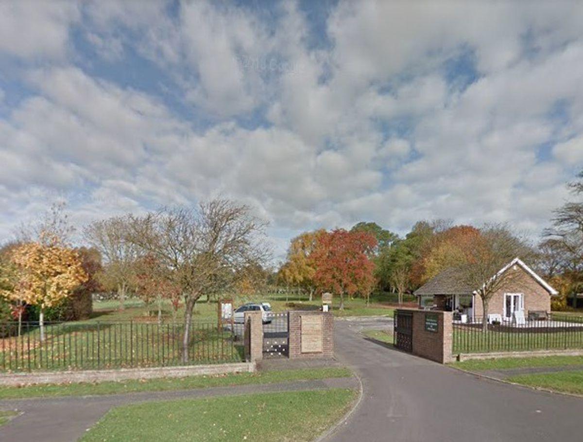 The entrance to Stafford Crematorium. Photo: Google StreetView.