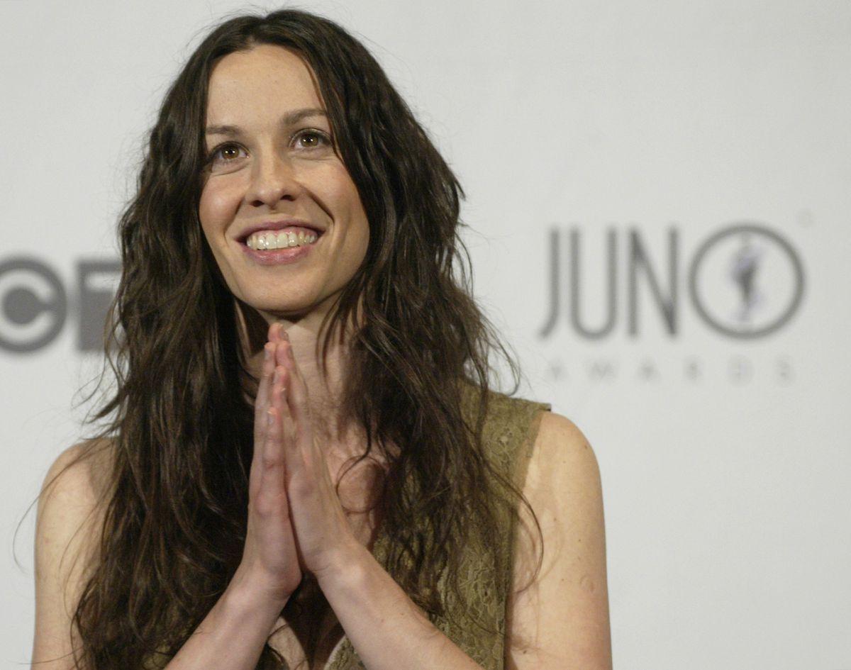 Alanis Morisette in 2003