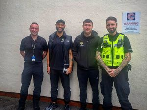 Aaron Forde and Foundations for the Future are working with the police