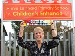 Retiring dinner lady rings final bell at Smethwick school