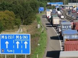 M5 closed after dog runs onto motorway