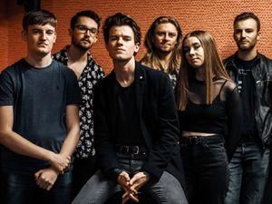 The new line-up for Birmingham indie rockers Karkosa   Photo: Fiona Peake