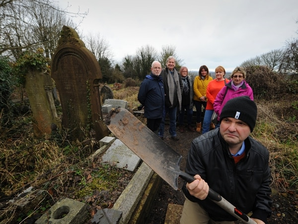 Big clear-up planned for overgrown Sedgley war graves