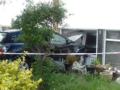 Car collides with house in Kidderminster
