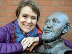 Bust of Wolves manager Nuno goes on display in Tettenhall