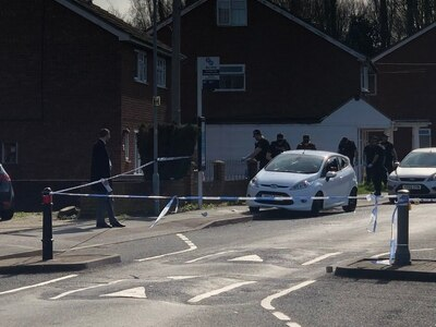 Man injured after shots fired during Wolverhampton street violence