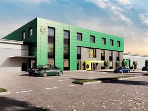 How the new ambulance hub in Oldbury will look