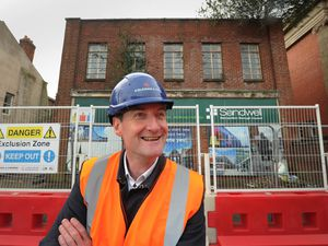 Outside former gas showroom in West Bromwich, Black Country Living Museum director and chief executive Andrew Lovett