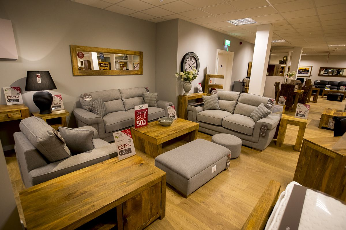 Oak Furniture Land has showrooms in Brierley Hill and Wednesbury