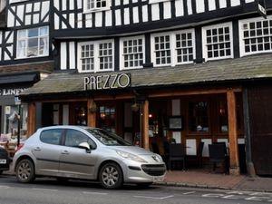 Prezzo restaurant in Bridgnorth