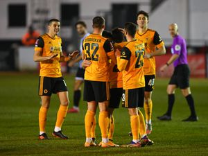 Vitinha of Wolverhampton Wanderers celebrates (AMA)