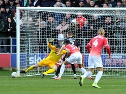 Walsall's Liam Roberts is working hard to cut out costly errors