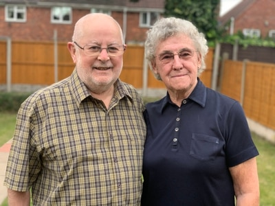 West Bromwich couple urge people with cancer symptoms to get checked