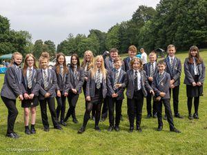 Pupils at The Hart School enjoy volunteering at Brereton's Ravenhill Park.