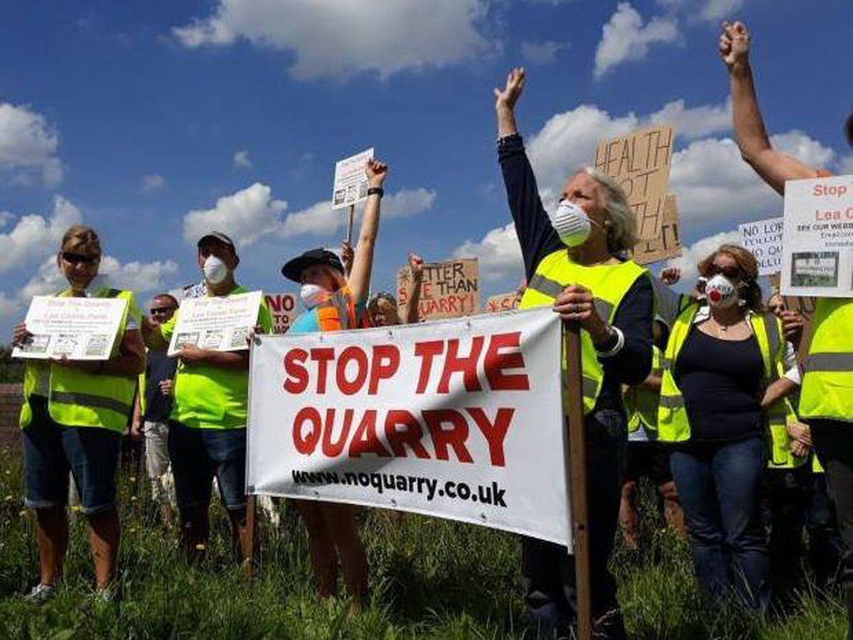The Stop The Lea Castle Farm Quarry Action Group
