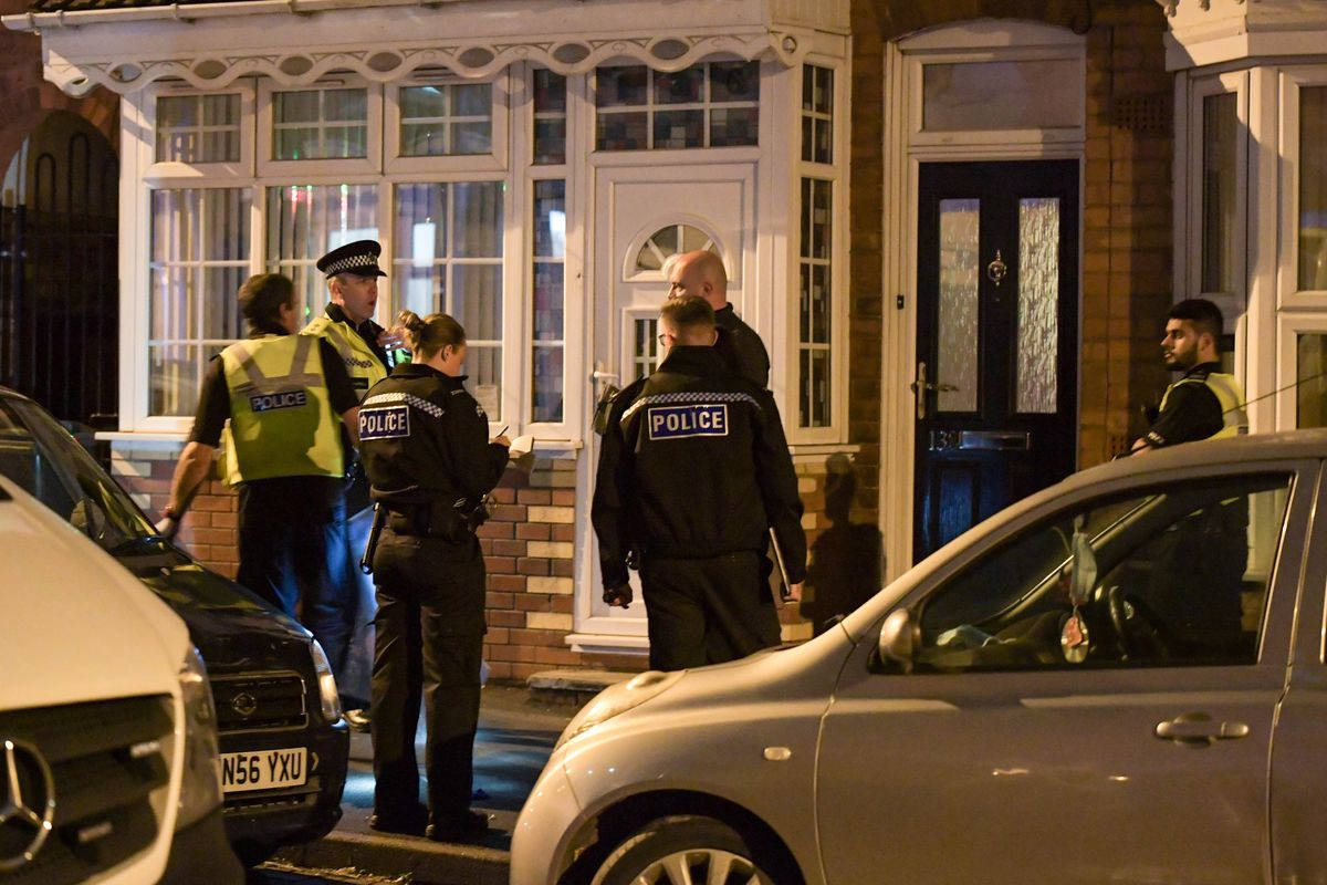 Four teenagers were stabbed in Birmingham. Picture by Snapper SK