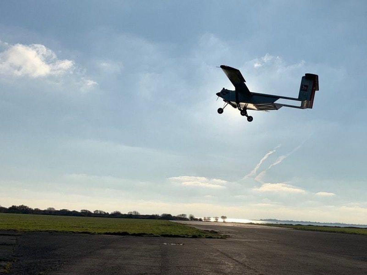 A Windracers Ultra UAV drone