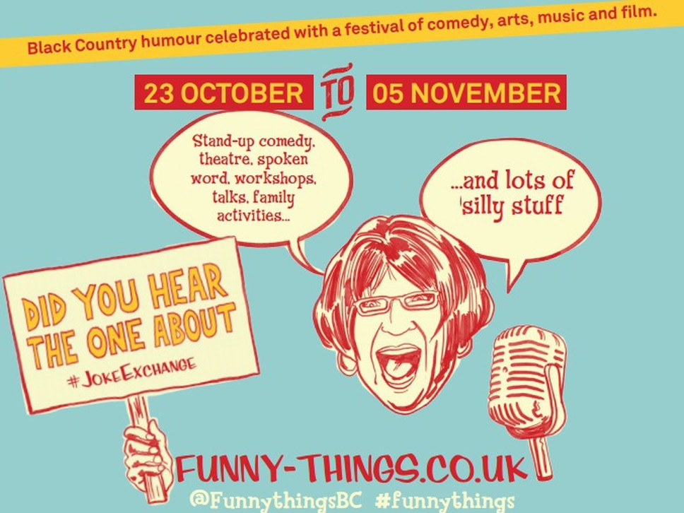 Funny Things: 12 things not to miss at Wolverhampton's new comedy festival