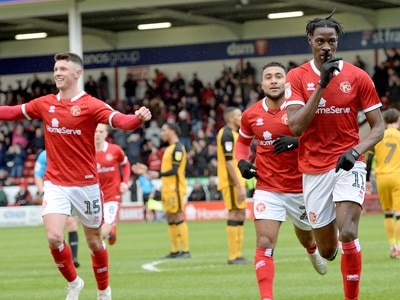 Elijah Adebayo 'absolutely delighted' with Walsall contract extension
