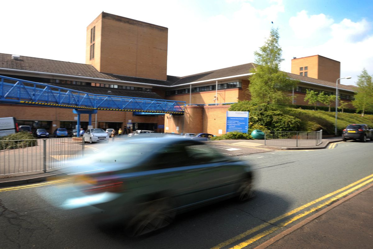 The Minor Injuries Unit at Cannock Chase Hospital