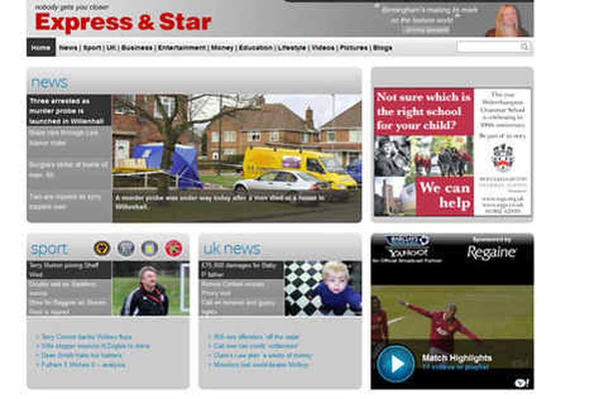 Expressandstar.com nets bumper online audience