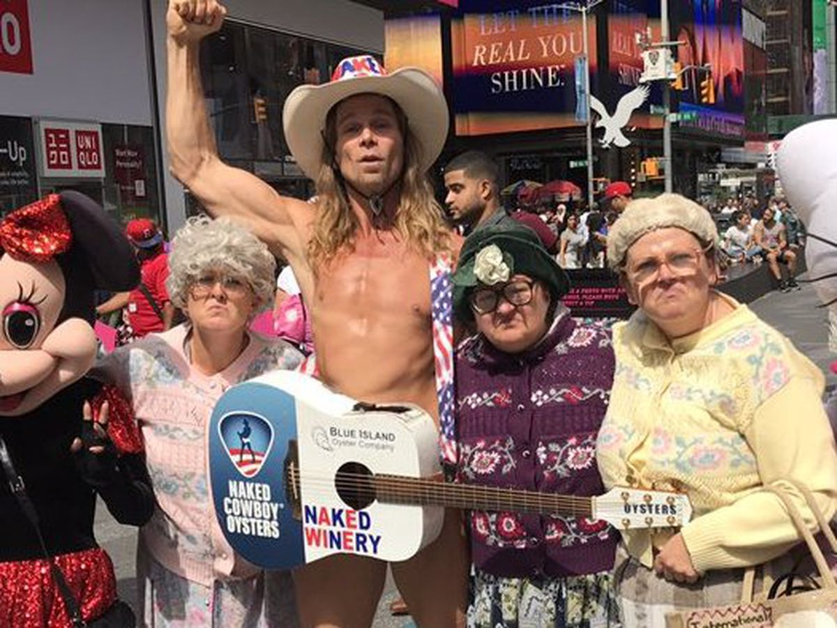 The Fizzogs and The Naked Cowboy