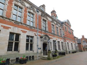 Staffordshire County Council's County Buildings in Martin Street Stafford where county council meetings are held