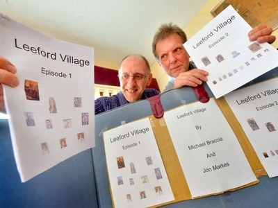 Leeford Village drama serial to be broadcast over the airwaves