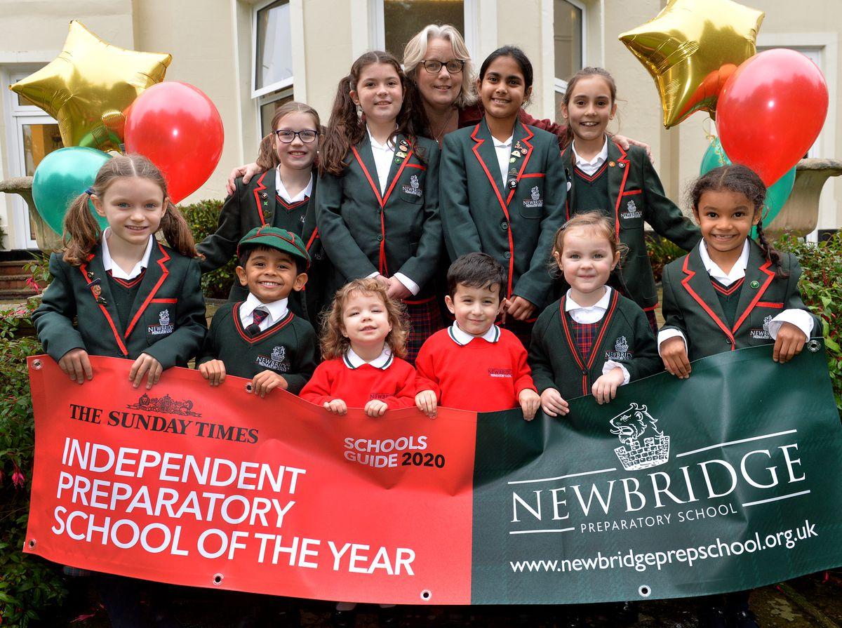 Newbridge Preparatory School was named The Sunday Times Independent Preparatory School of The Year 2020