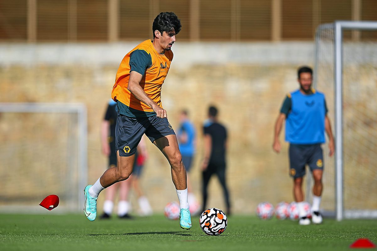 Wolves in training in Spain (Photo: Wolves/Getty)