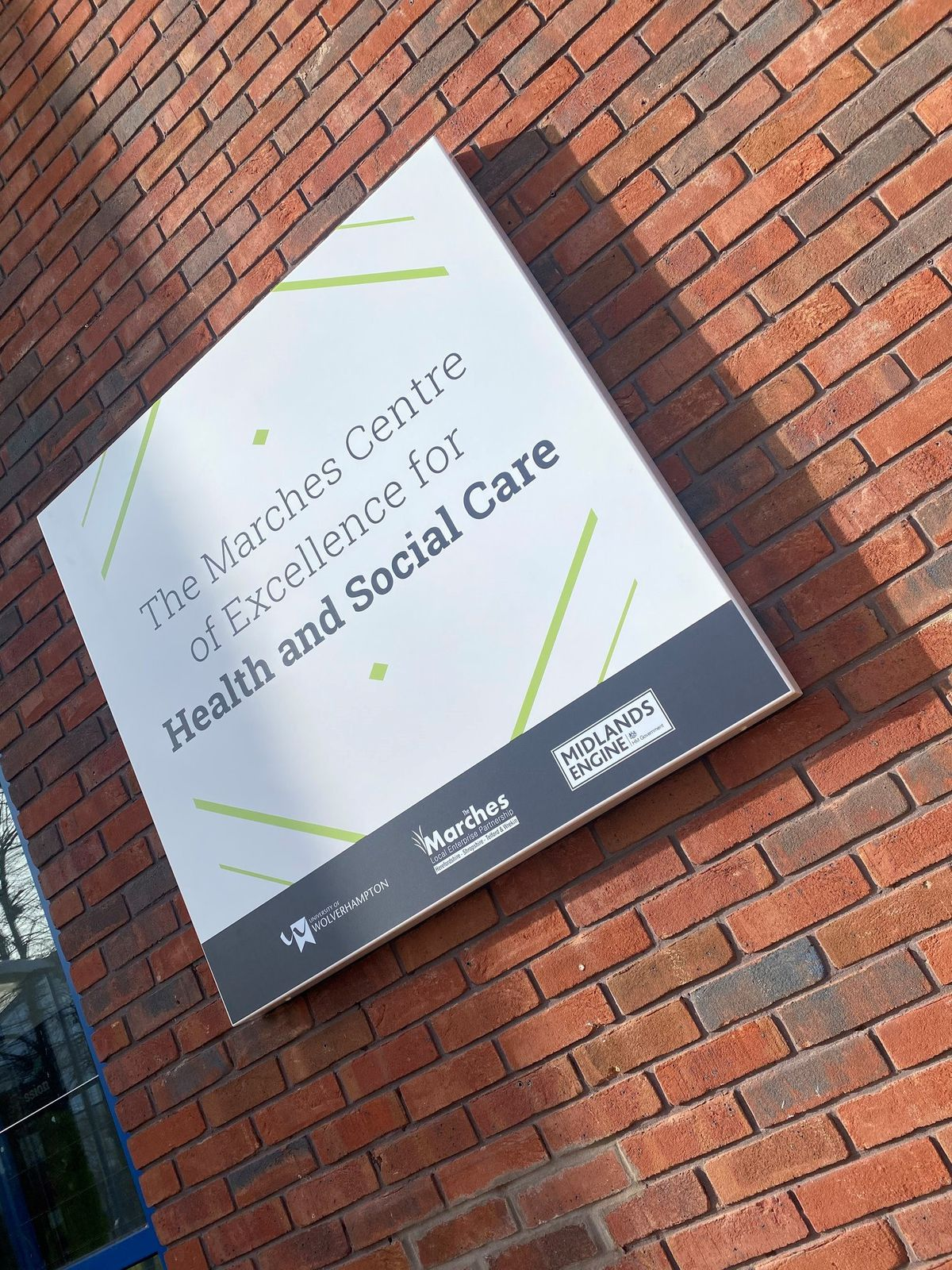 Marches Centre of Excellence for Health and Social Care will open to students next month