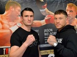 Jason Welborn ready to snatch belt
