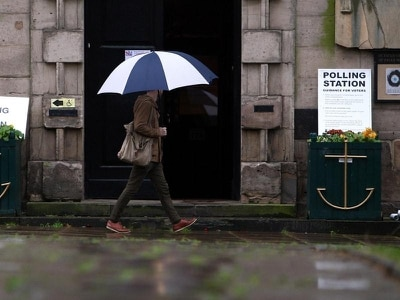 Wet and windy weather forecast for polling day