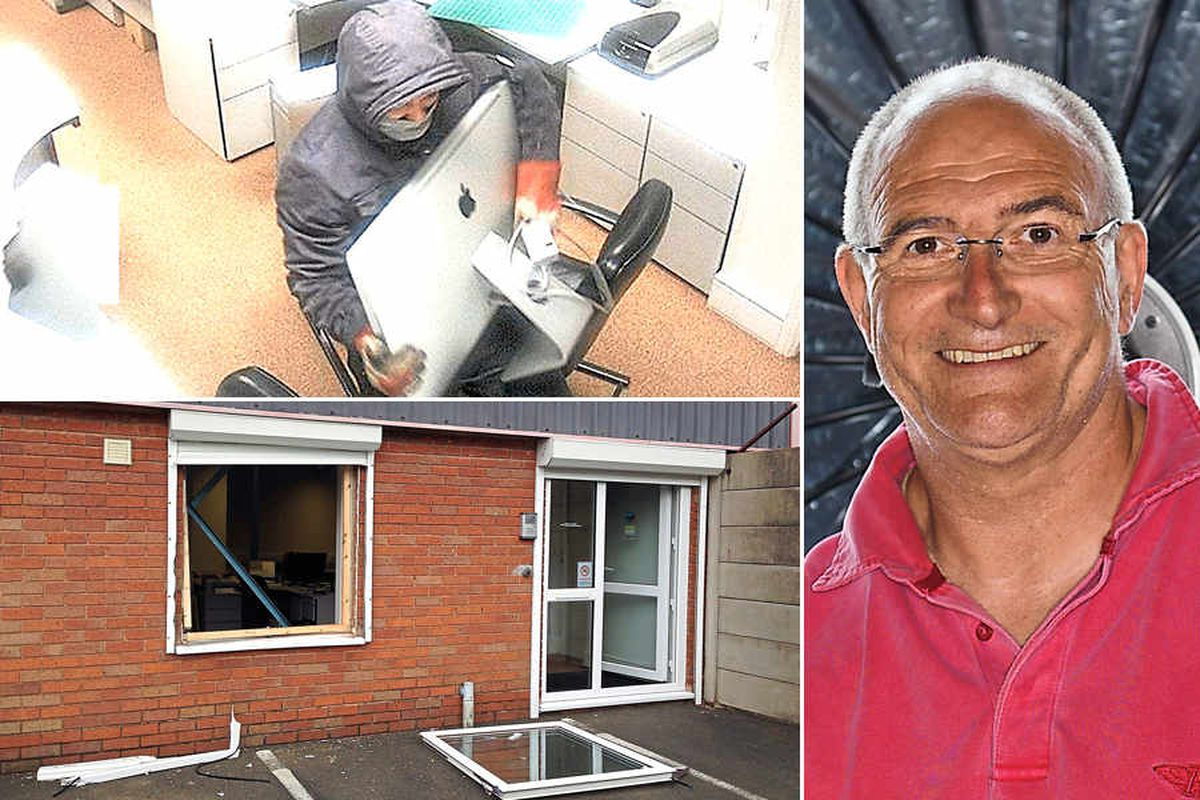 Boss: I had to watch firm being raided but police couldn't come until morning